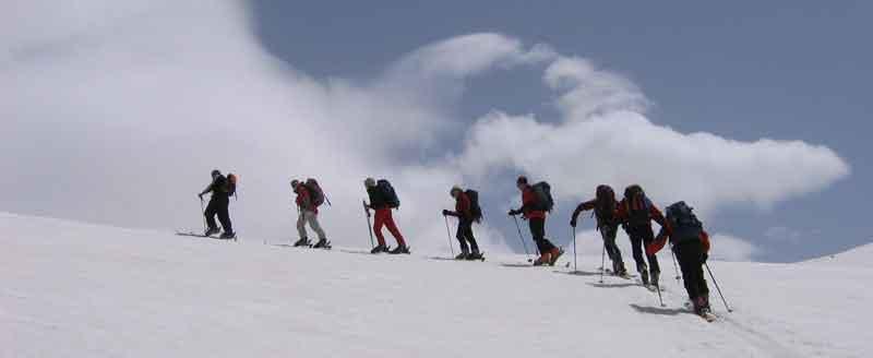 Alborz Ski tour