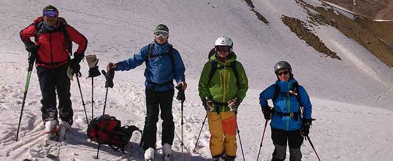 Damavand Ski Tour