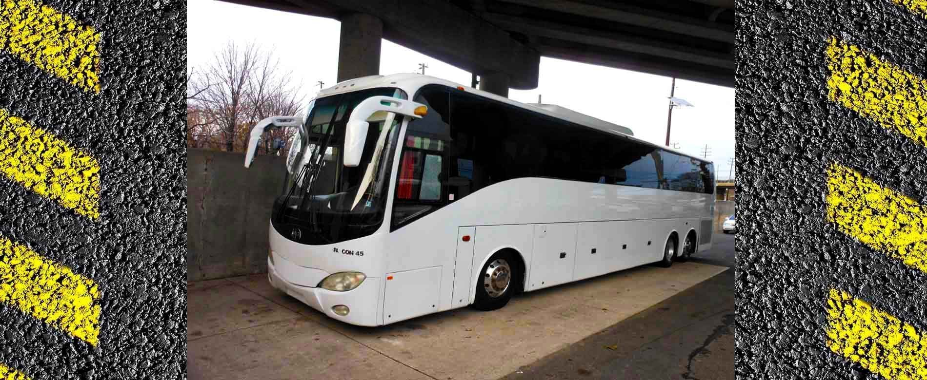 45-passenger bus