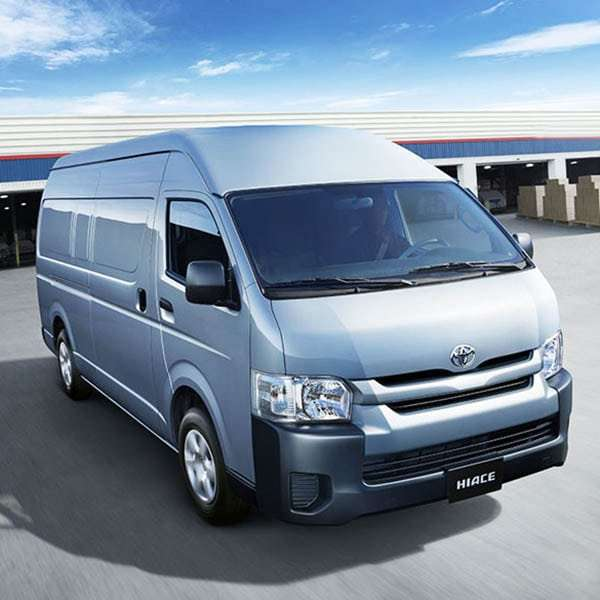 7-Passenger Toyota Hiace
